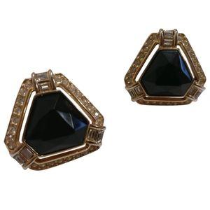 🇨🇦Vintage 80s Oscar de La Renta clip on earrings